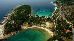 """Esplora le coste e le montagne di """"Green Diamond"""" - Aka Thassos Isola viaggio"""